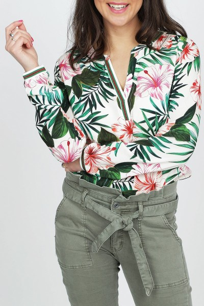 Geisha Shirt / Top Multicolor 93202-20