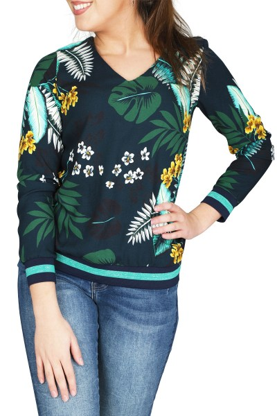 Geisha Shirt / Top Multicolor 93103-20