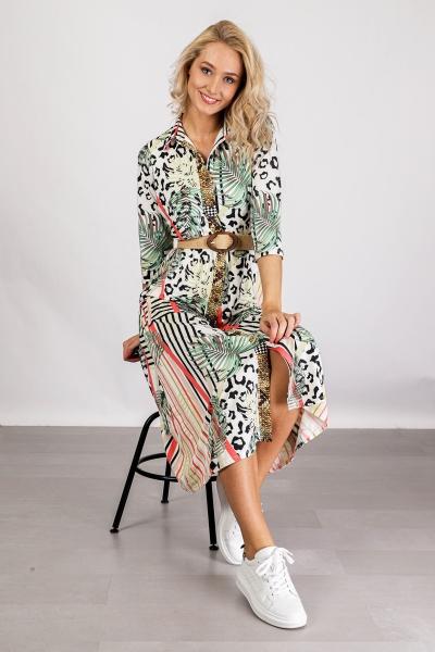 K-Design Maxi-jurken Multicolor Q887