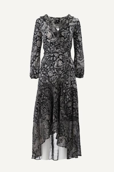 K-Design Maxi-jurk Multicolor T851