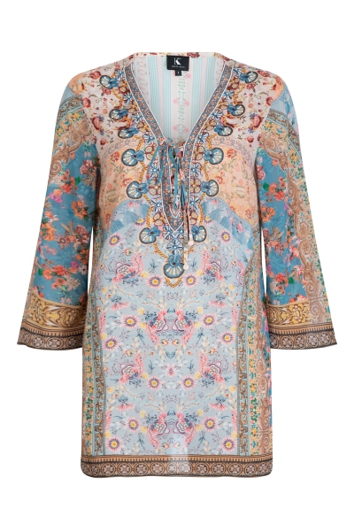 K-Design Tuniek Multicolor Q705B