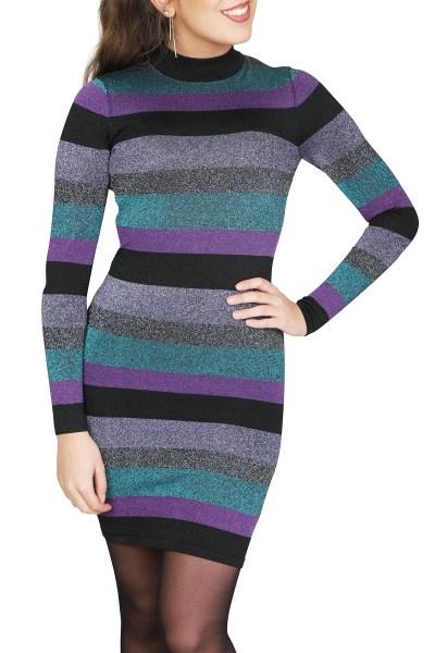 NIKKIE by Nikkie Plessen Jurk Multicolor Paivi Dress
