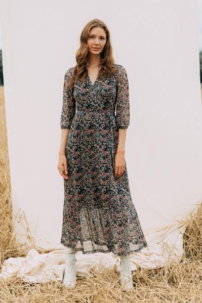 Nova Cinq Maxi-jurk Multicolor RHODE