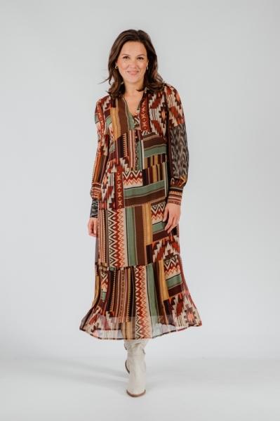 Tramontana Jurk Multicolor C05-01-501