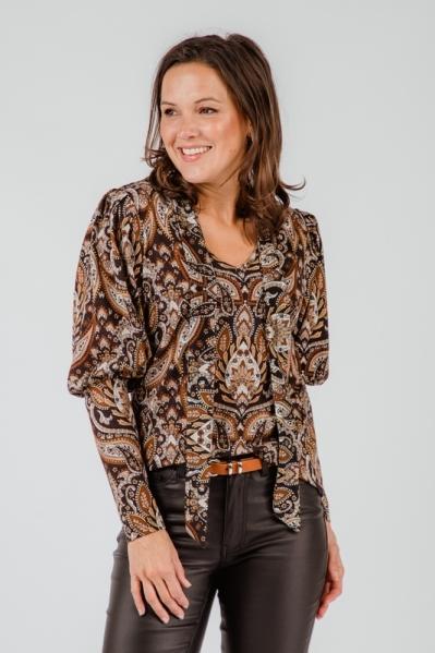 Tramontana Shirt / Top Multicolor D04-01-401