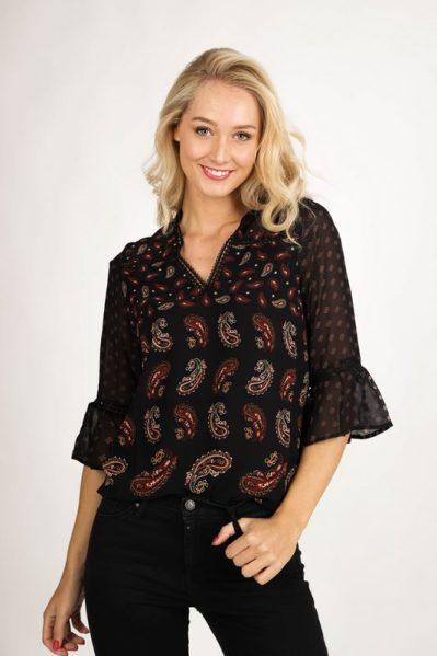 Tramontana Shirt / Top Multicolor C06-96-301