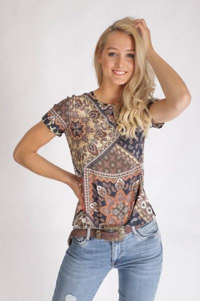 Tramontana Shirt / Top Multicolor C15-94-302