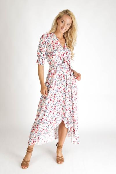 Typical Jill Maxi-jurken Multicolor Andrea