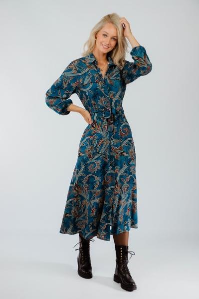 Typical Jill Maxi-jurk Multicolor Fredrika