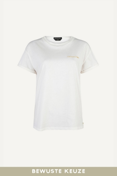 Colourful Rebel Shirt / Top Offwhite 10303