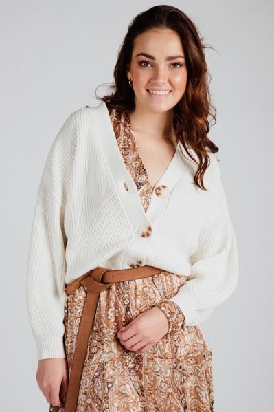 Esqualo Vest Offwhite SP21.07006