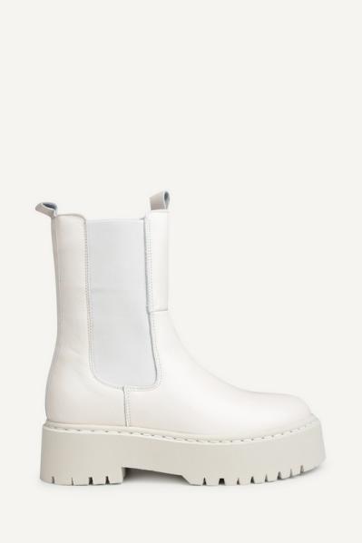 Poelman Chelsea boot Offwhite P6917