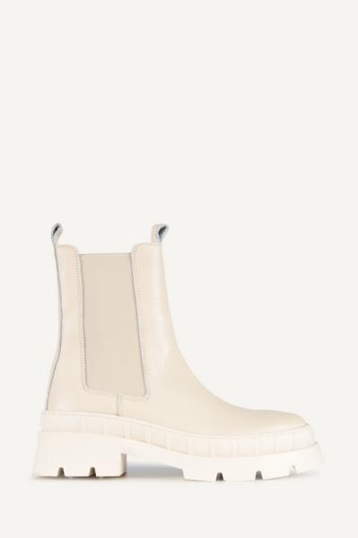 Poelman Chelsea boot Offwhite R17765-N1226POE
