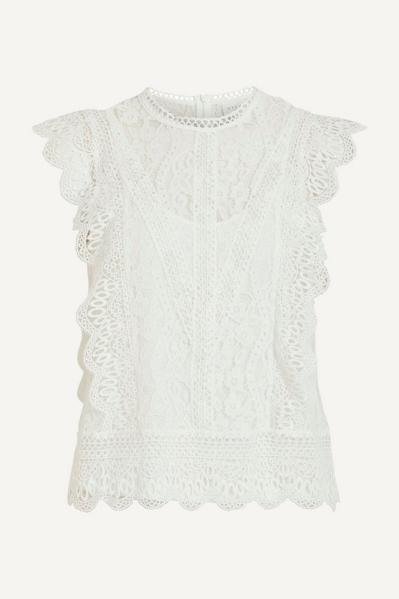 Vila Shirt / Top Offwhite 14067872