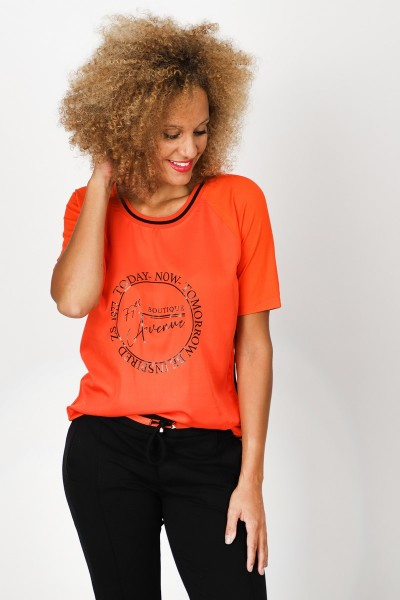 Zoso Shirt / Top Oranje Evelien