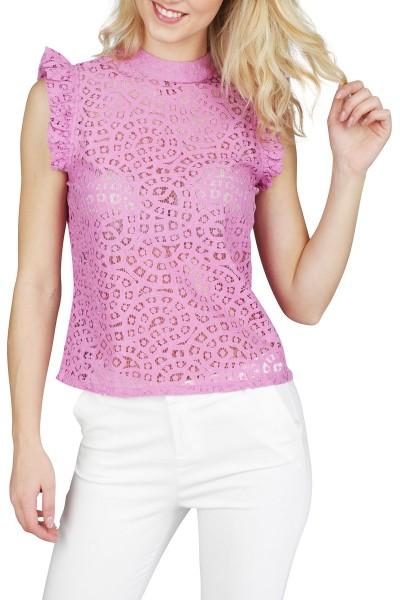 AAIKO Shirt / Top Paars Floria