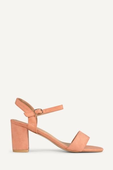 Shoecolate Sandaal hak Perzik 1.11.04.040