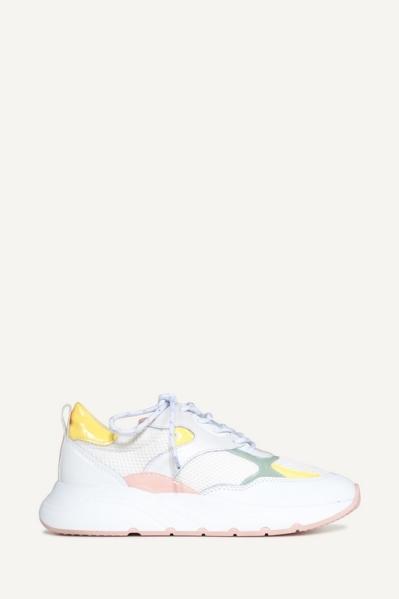 Gymp lak geel wit wit