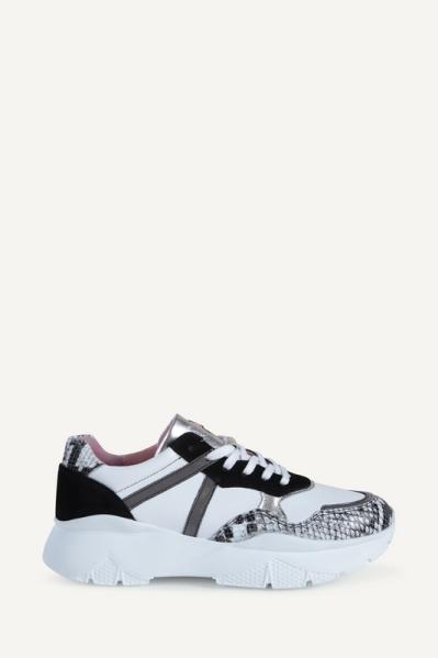 Gymp zwart wit / snake wit