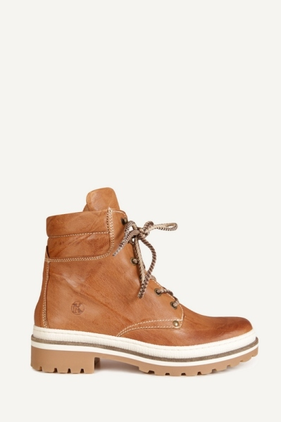 Veterboot sporty cognac