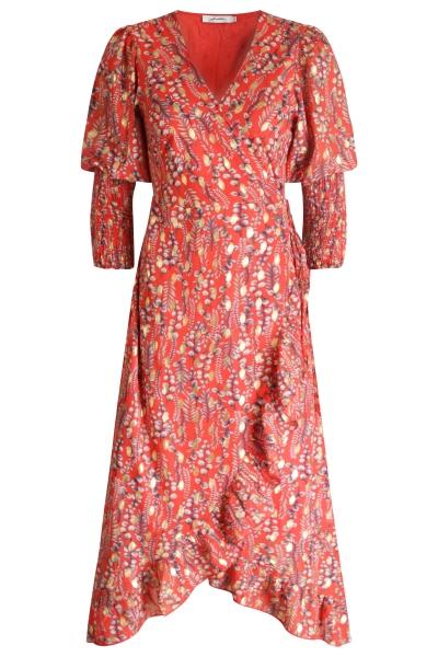Ambika Maxi-jurken Rood Shadow
