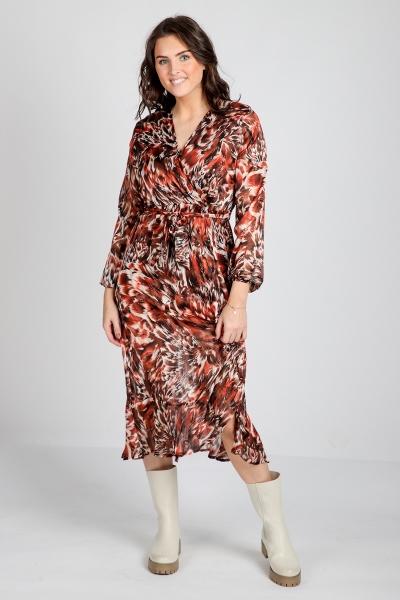 Ambika Maxi-jurken Rood Reign
