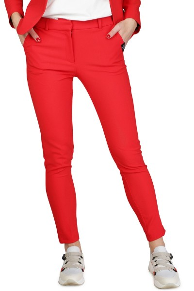 &Co Woman Broek Rood Paris Pant