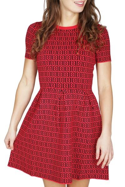 NIKKIE Jurk Rood Perfect Logo Dress