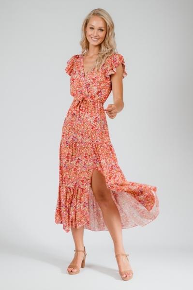 Typical Jill Maxi-jurk Rood Didi