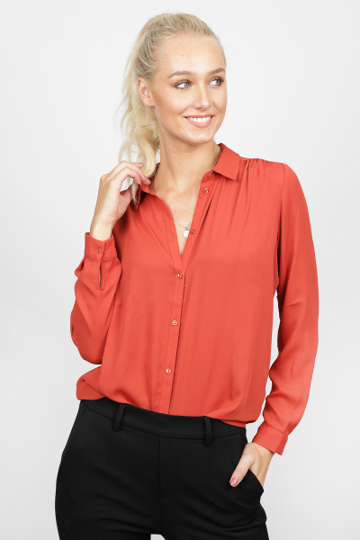 Vila Shirt / Top Rood 14051975