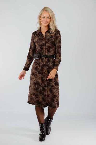 K-Design Midi-jurken Roze T134