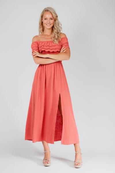 Le Ballon Maxi-jurk Roze 1087
