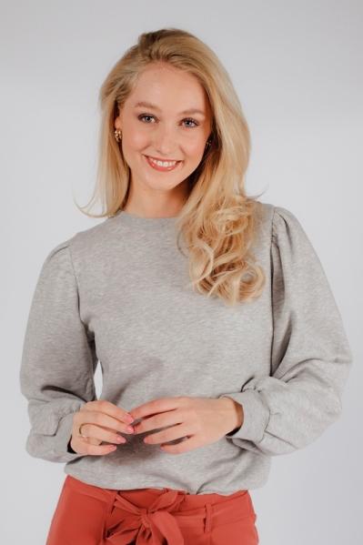 DitaSZ Pullover grijs / antraciet