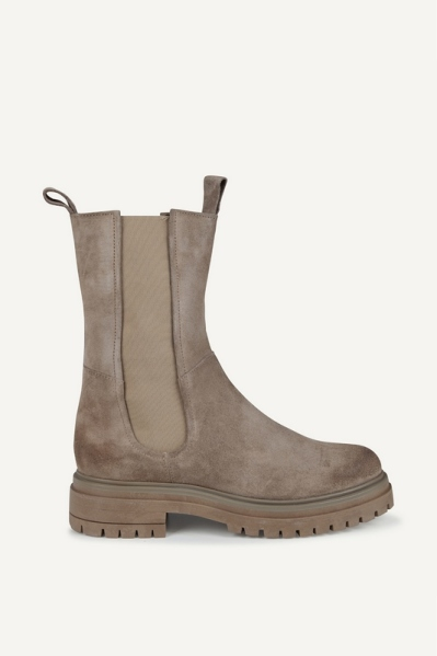 Taupe mid lichte zool taupe
