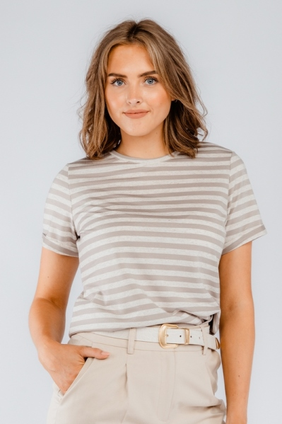 Your Essentials Shirt / Top Taupe Xaja