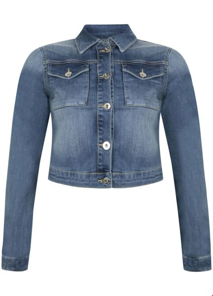 Jacket Cropped 5-Pocket denim