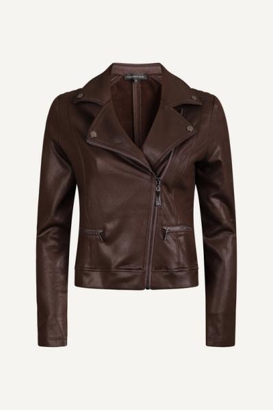Jacket Biker Coated Sweat d.bruin