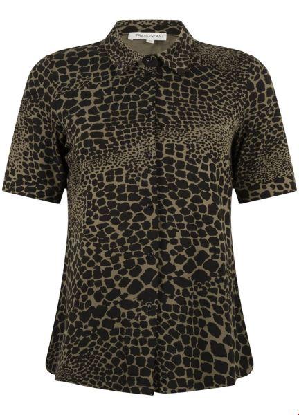Blouse Half Sleeve Jersey Giraf Prt multi