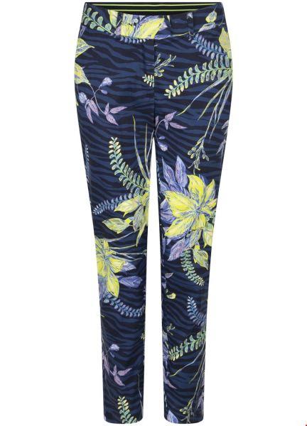 Trousers City Flower Print multi