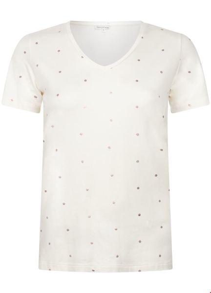 T-Shirt Dot ecru