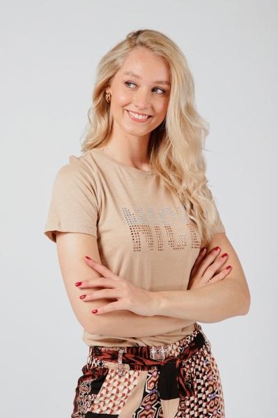 T-Shirt Nice zand