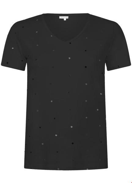 T-Shirt Dot zwart