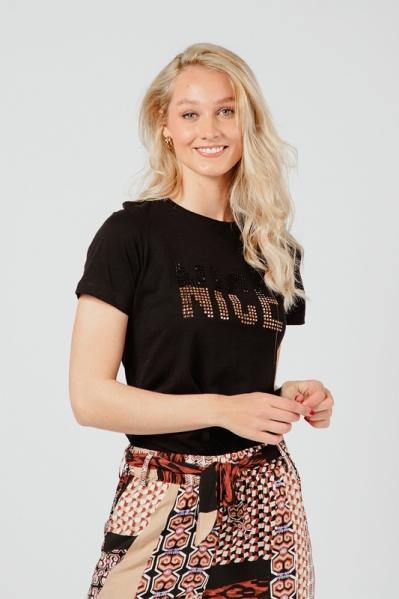 T-Shirt Nice zwart