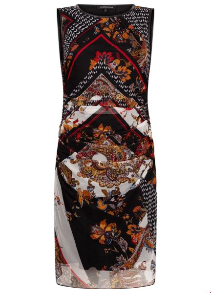 Dress SLS Patchwork Mesh multi