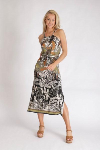 Dress S/L Botanical multi