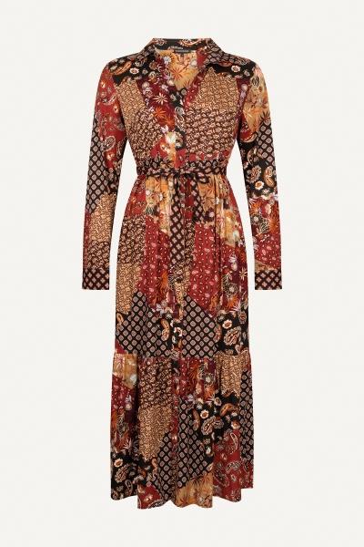 Dress Patchwork Print multi