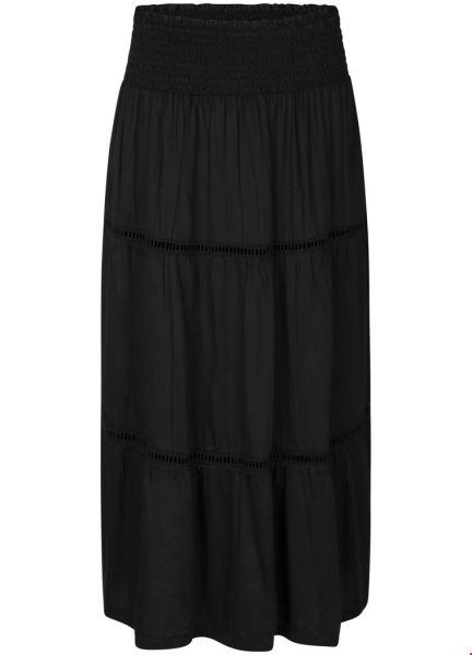 Skirt Smock Waist zwart