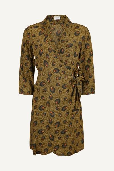 VIMACIE SHIVA 3/4 DRESS C12 groen