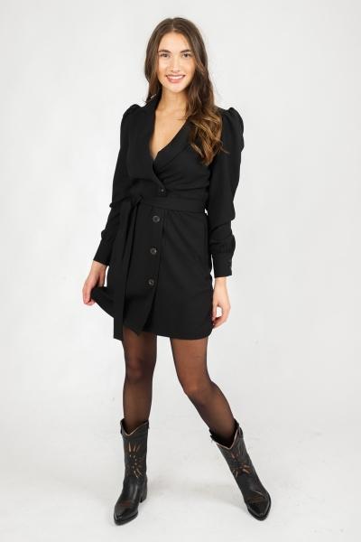 VIMARY BLAZER DRESS zwart