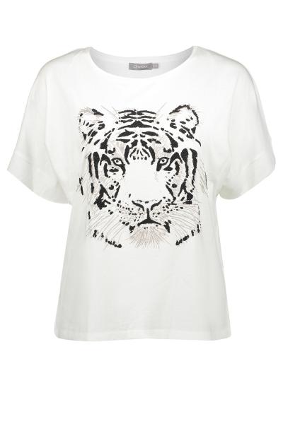 Geisha Shirt / Top Wit 02352-46